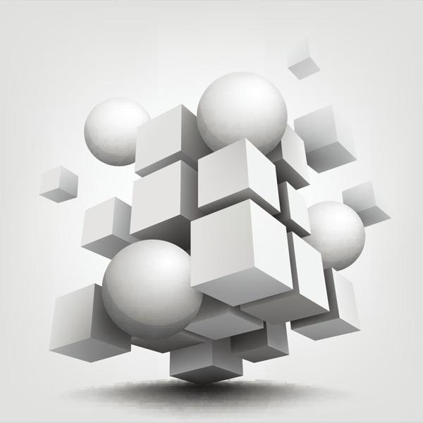 3d立体几何元素