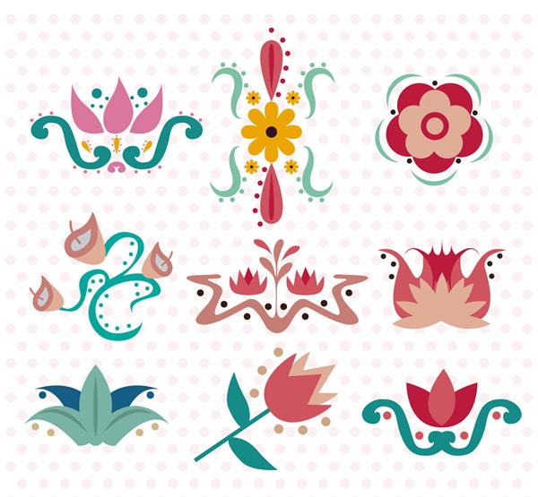 创意花卉花纹