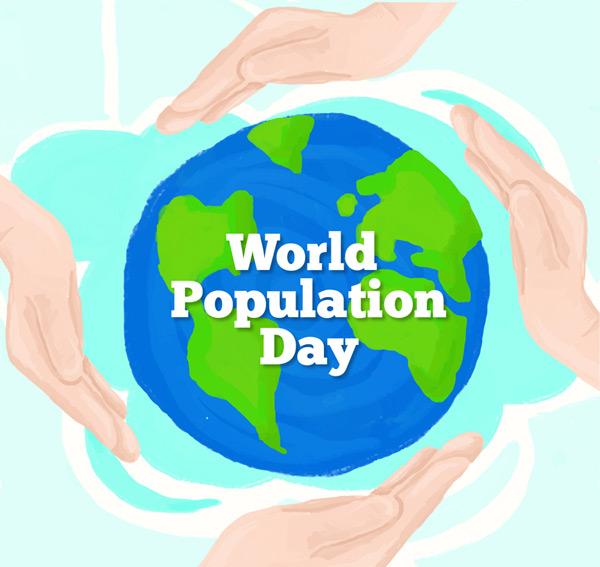 世界人口日宣传活动_世界人口日图片