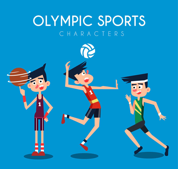 奥运会男运动员