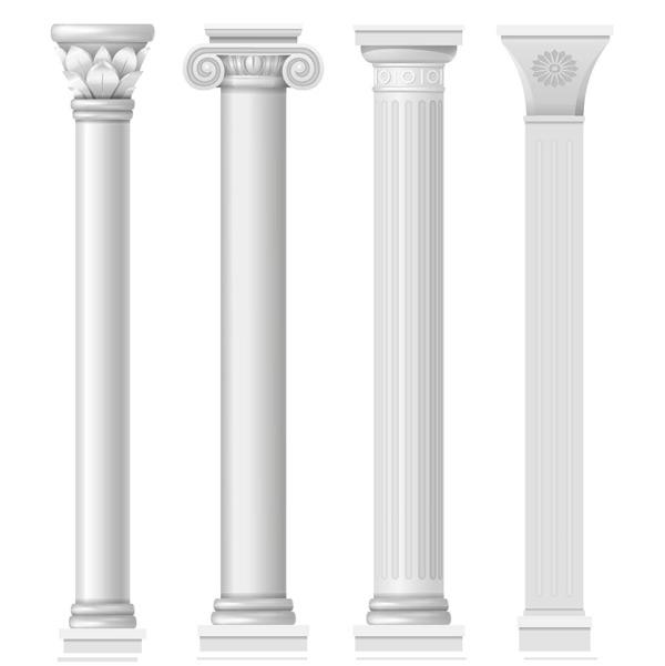 罗马柱元素,罗马柱设计,古典,欧式,建筑,石柱,柱子,浮雕,欧式雕花建筑
