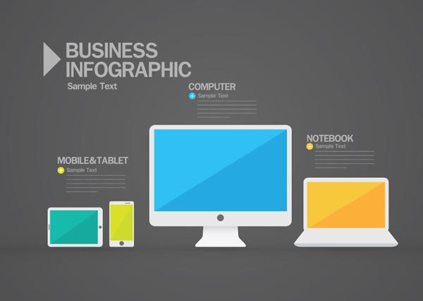 数码产品信息图