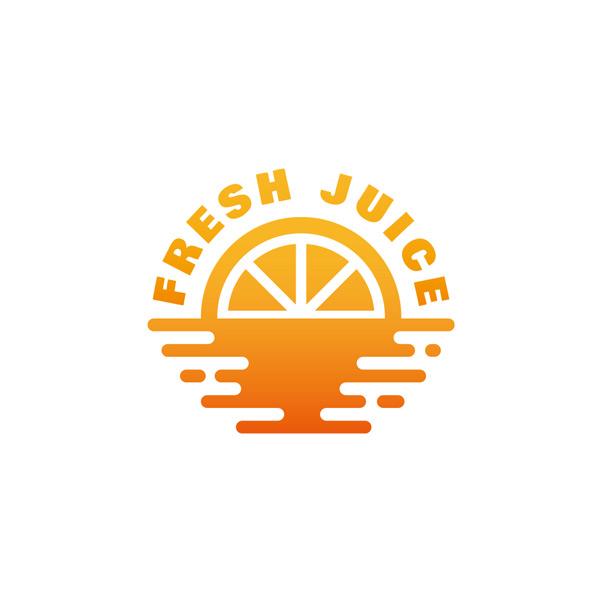 设计,食品,饮食,切片,水果,多汁,饮料,创意,概念,品牌,柠檬水,logo图片