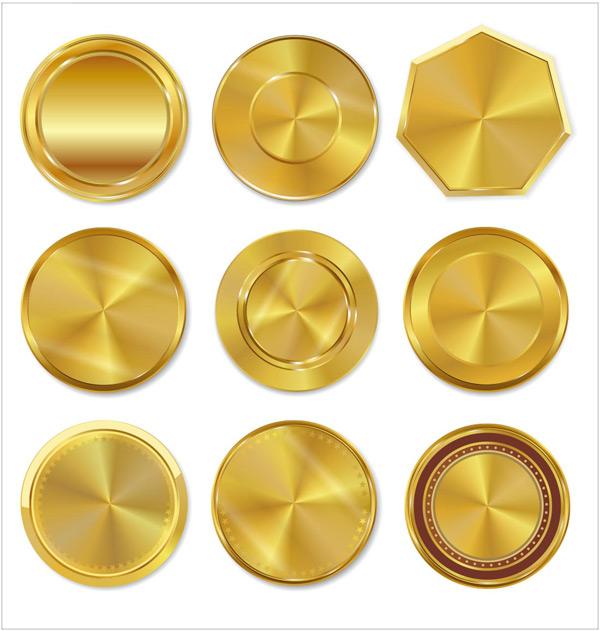圆形,金属,六角形,徽章,标签,品质,高档,奖牌,勋章,荣誉,品质保证