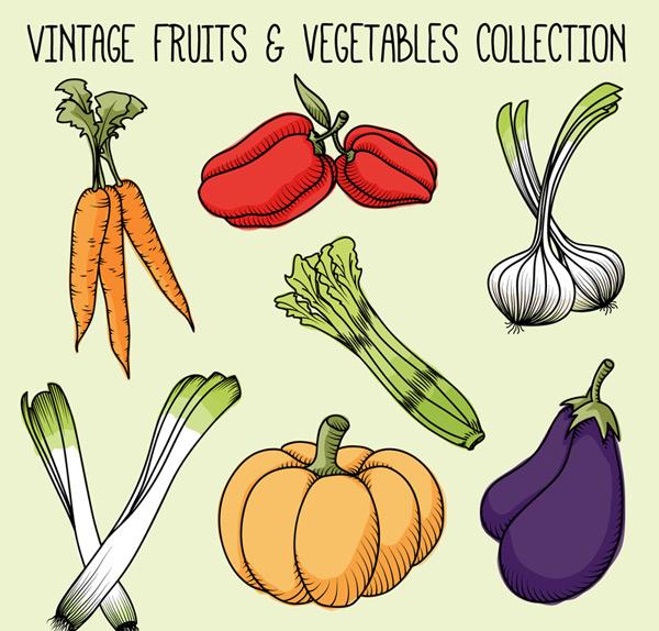 彩绘蔬菜设计