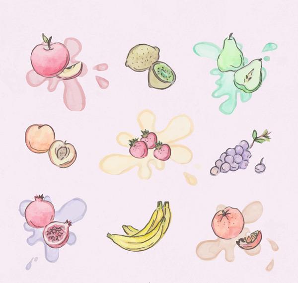 彩绘水果设计