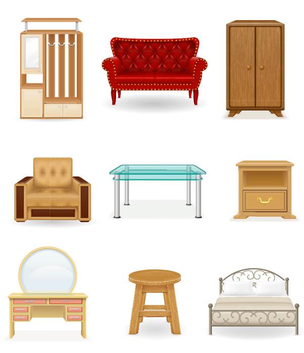 桌椅柜子家具
