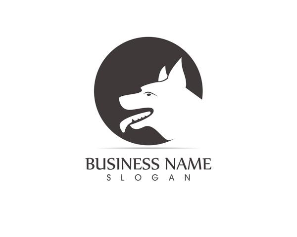 圆形动物logo