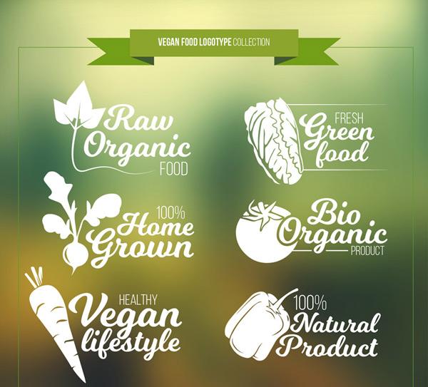 蔬菜素食标志