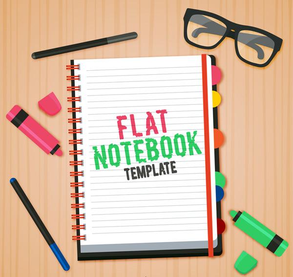记事本和文具