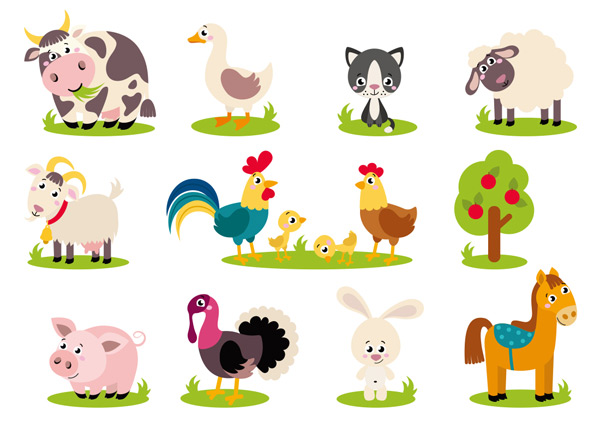 种类繁多的动物资源