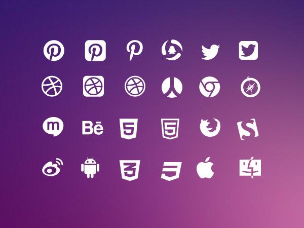 矢量小图标所需点数: 0 点 关键词: 互联网logo图标,social-icons,ic图片