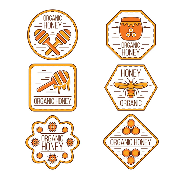 有机蜂蜜标签