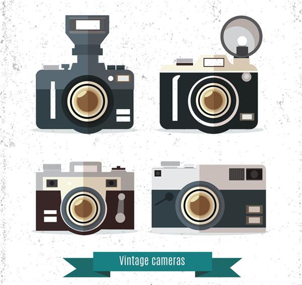 复古照相机矢量