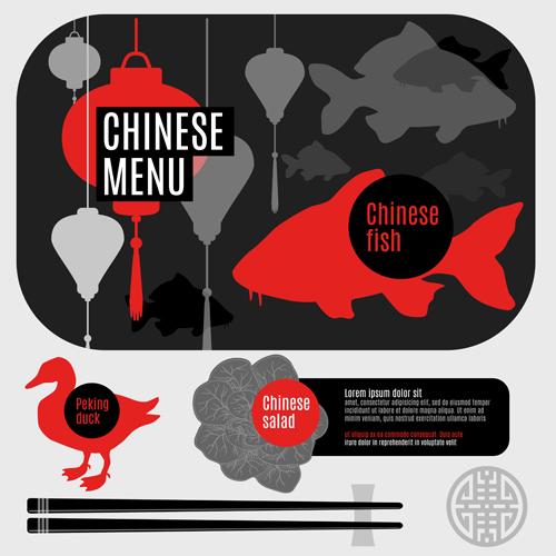 鱼鸭肉美食主题