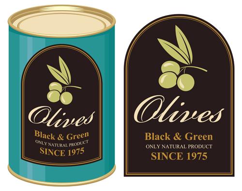 橄榄包装标签