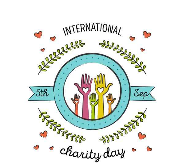 国际慈善日贺卡