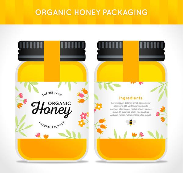 玻璃瓶装蜂蜜