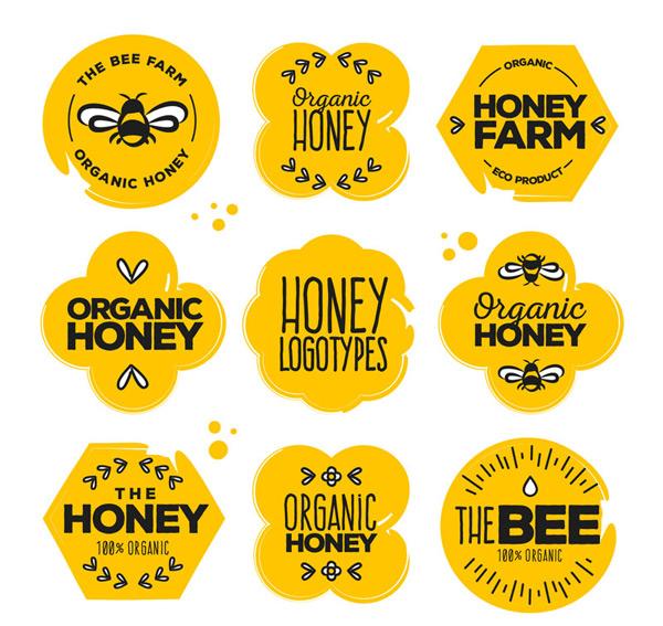 有机蜂蜜标志