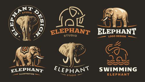 大象元素标志