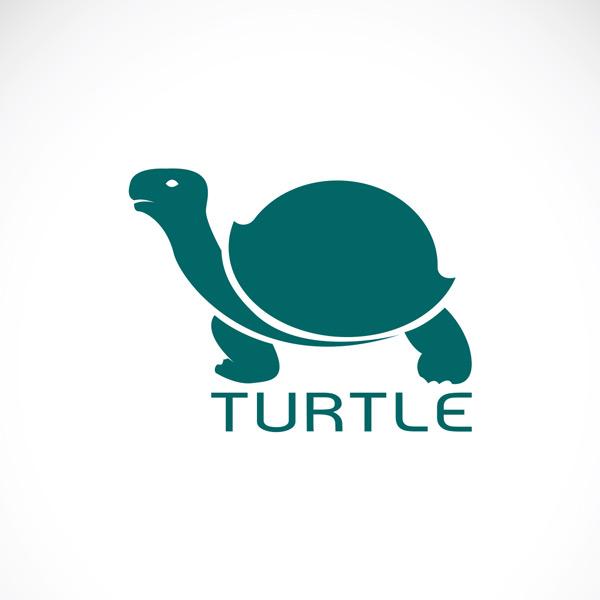 绿色,乌龟,爬行动物,剪影,宠物,动物园,卡通,可爱,标志,图标,矢量素材