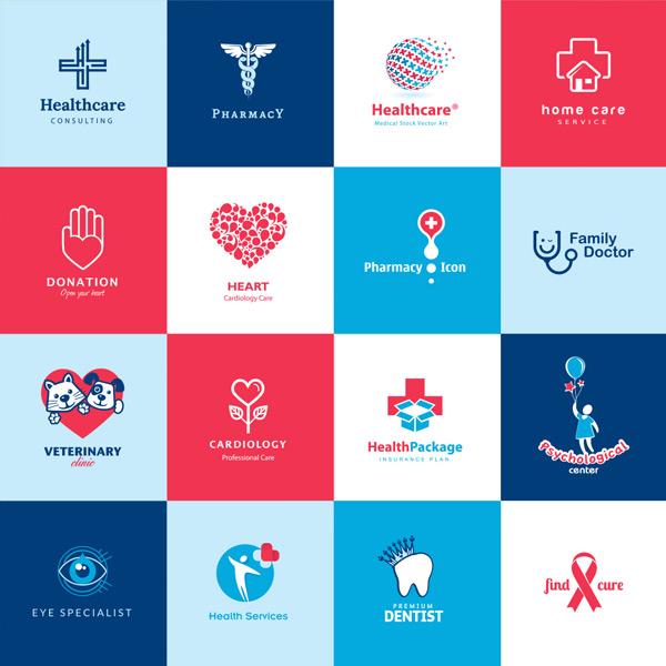 0 点 关键词: 多彩艺术公益医疗类标志图标矢量素材,十字架,手掌