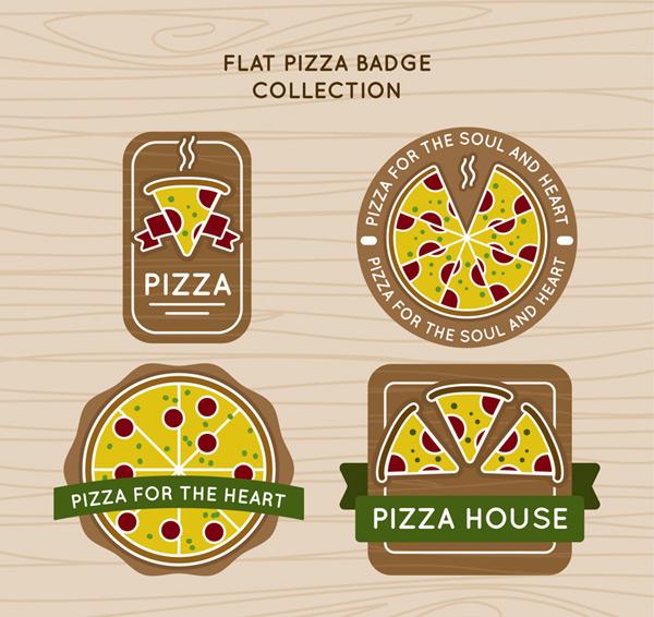 创意披萨徽章