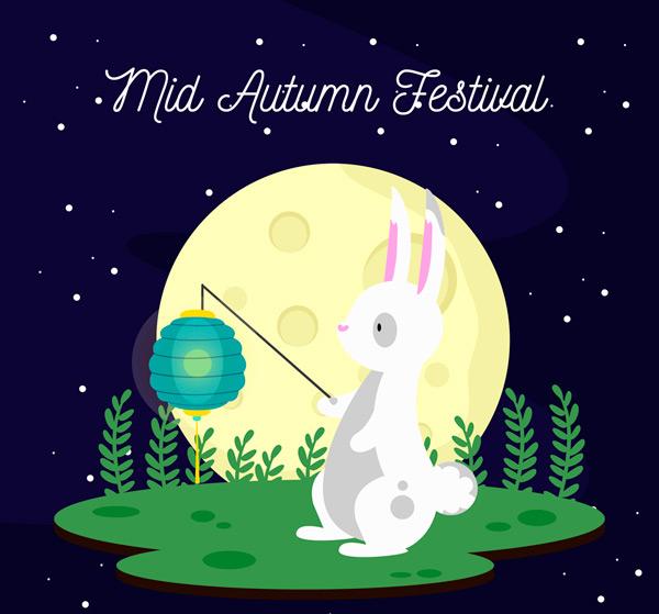 0 點 關鍵詞: 可愛中秋節提燈籠兔子矢量圖,中秋節,燈籠,兔子,月亮