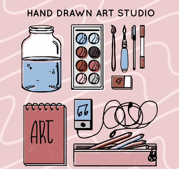 彩绘绘画工具