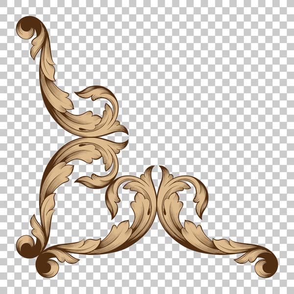 素材分类: 其它所需点数: 0 点 关键词: 欧式复古金色花纹装饰矢量