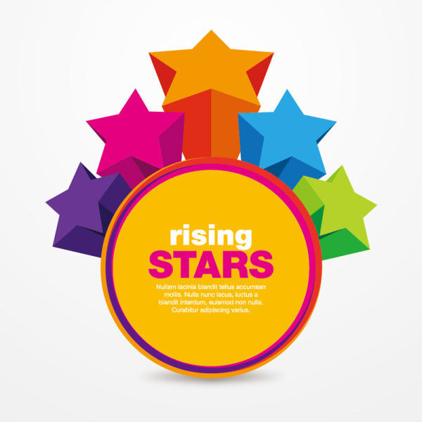 0 点 关键词: 立体星星标贴矢量素材,标贴,标签,星星,立体,3d,圆形