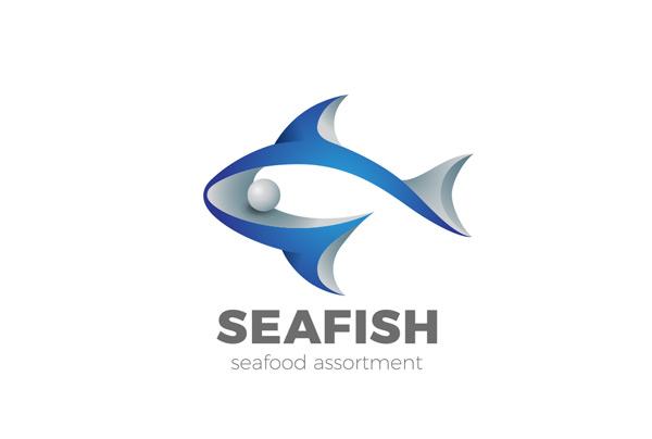 立体鲸鱼logo图片