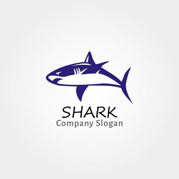 素材分类: 其它所需点数: 0 点 关键词: 蓝色鲨鱼标志矢量素材,蓝色