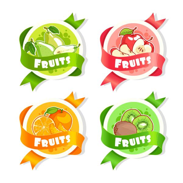 素材分类: 其它所需点数: 0 点 关键词: 四款水彩手绘新鲜水果矢量