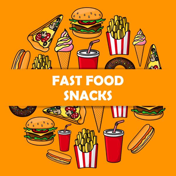 素材分类: 矢量美食所需点数: 0 点 关键词: 20款美味快餐零食矢量素