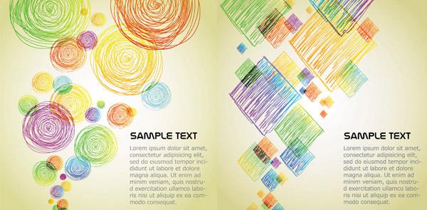 素材分类: 矢量背景所需点数: 0 点 关键词: 可爱卡通蜡笔文本背景矢