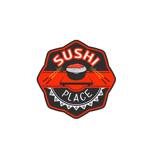 寿司主题标志