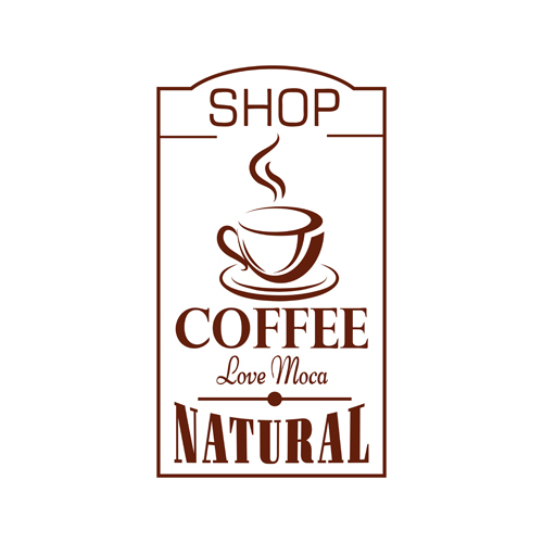 素材LOGO设计_咖啡中国间办公设计图片