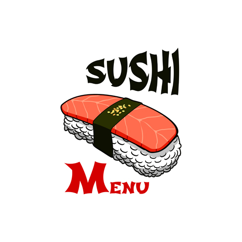 寿司LOGO设计