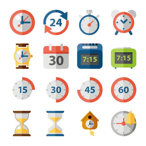 时间_时间主题图标