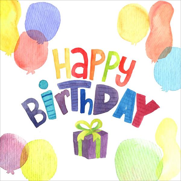 素材分类: 矢量生日所需点数: 0 点 关键词: 彩绘气球生日祝福卡矢量