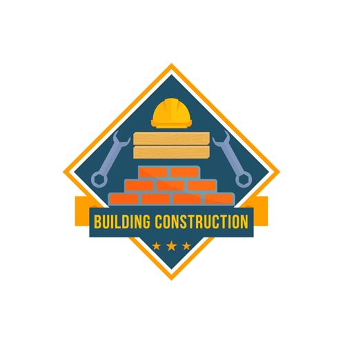 建筑标志矢量