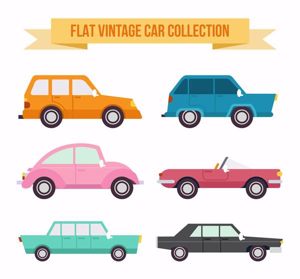 素材分类: 现代科技所需点数: 0 点 关键词: 6款扁平化复古车辆矢量