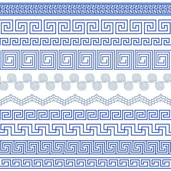 线性花纹边框