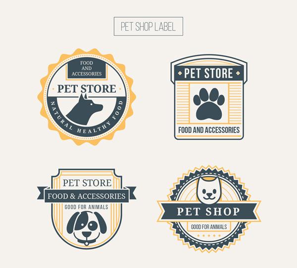 宠物店标签
