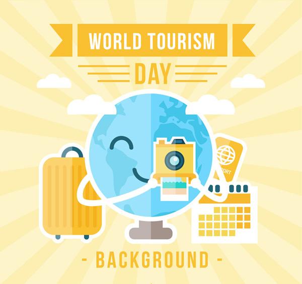 扁平化世界旅游日