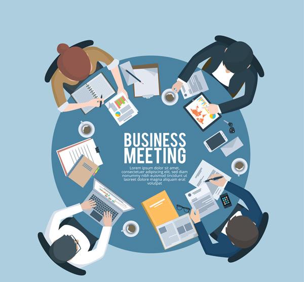 商务圆桌会议