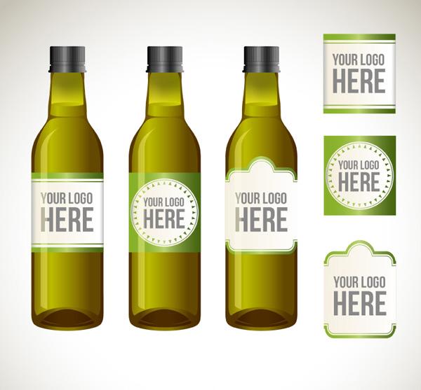 瓶子与标签设计