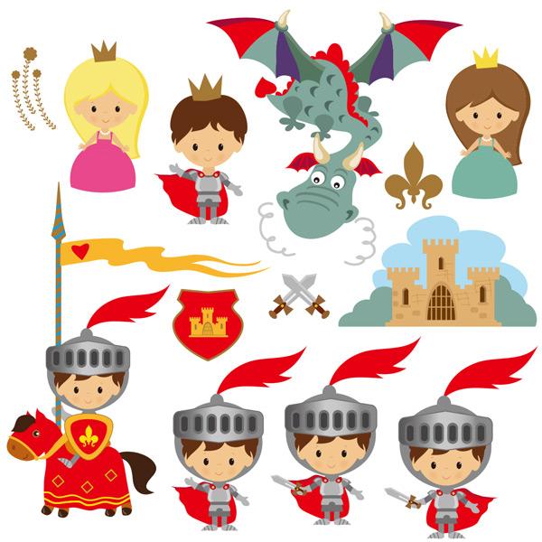 儿童可爱插图_素材中国sccnn.com