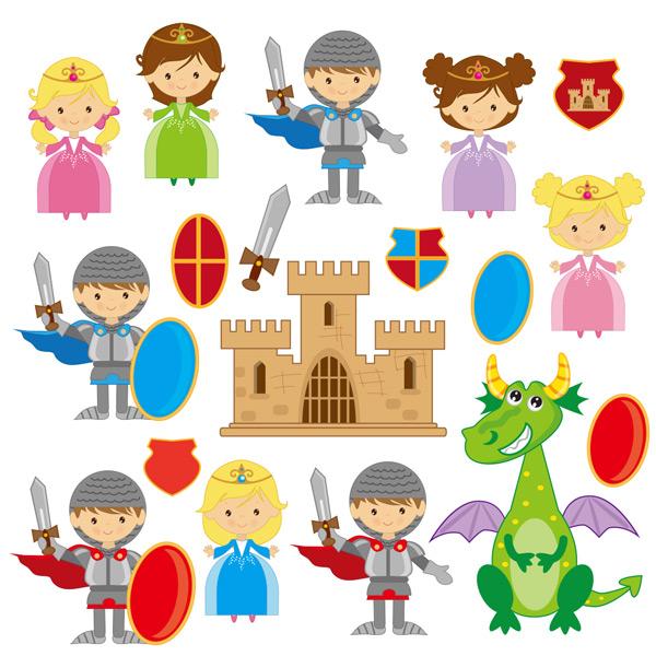 卡通儿童可爱插图图片